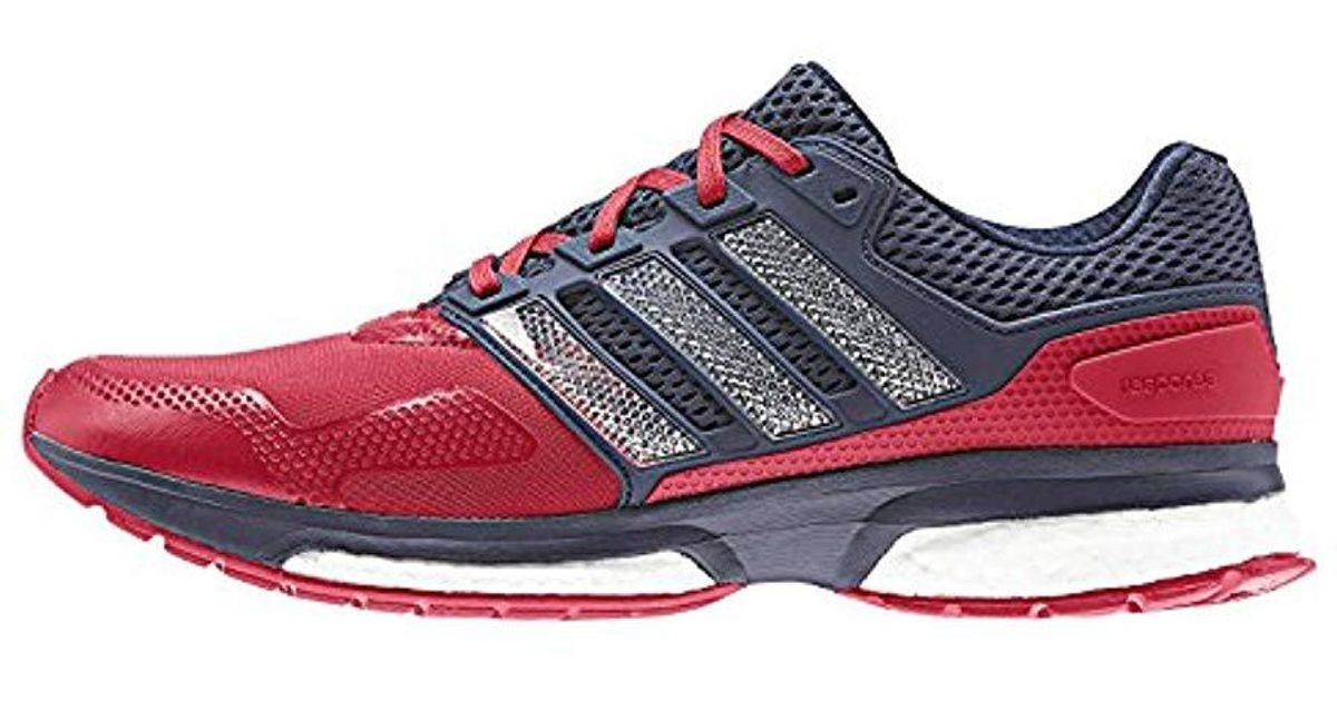fc6756692eefa adidas-Multicolored-Rojo-Azul-Marino-Response-2-Techfit-Running-Shoes.jpeg