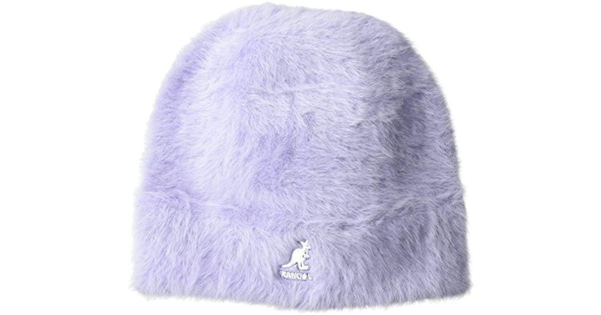 2c9128e37 Kangol Purple Furgora Skull Cap, The Beanie Version Of Your Favorite Bucket  Hat for men