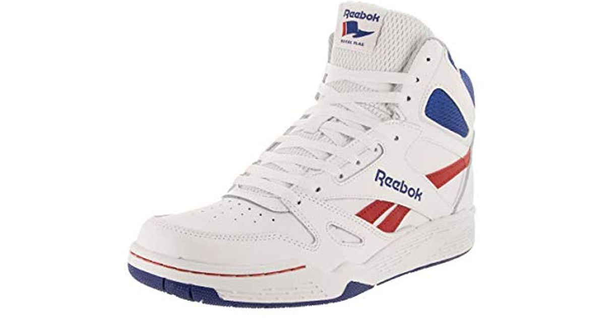 70cc1ca2b5 Reebok White Royal Bb4500 Hi Fashion Sneaker for men