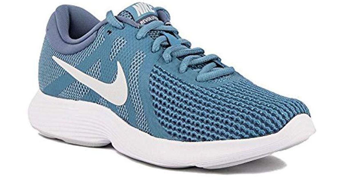 Nike Blue Wmns Revolution 4 Eu Trail Running Shoes