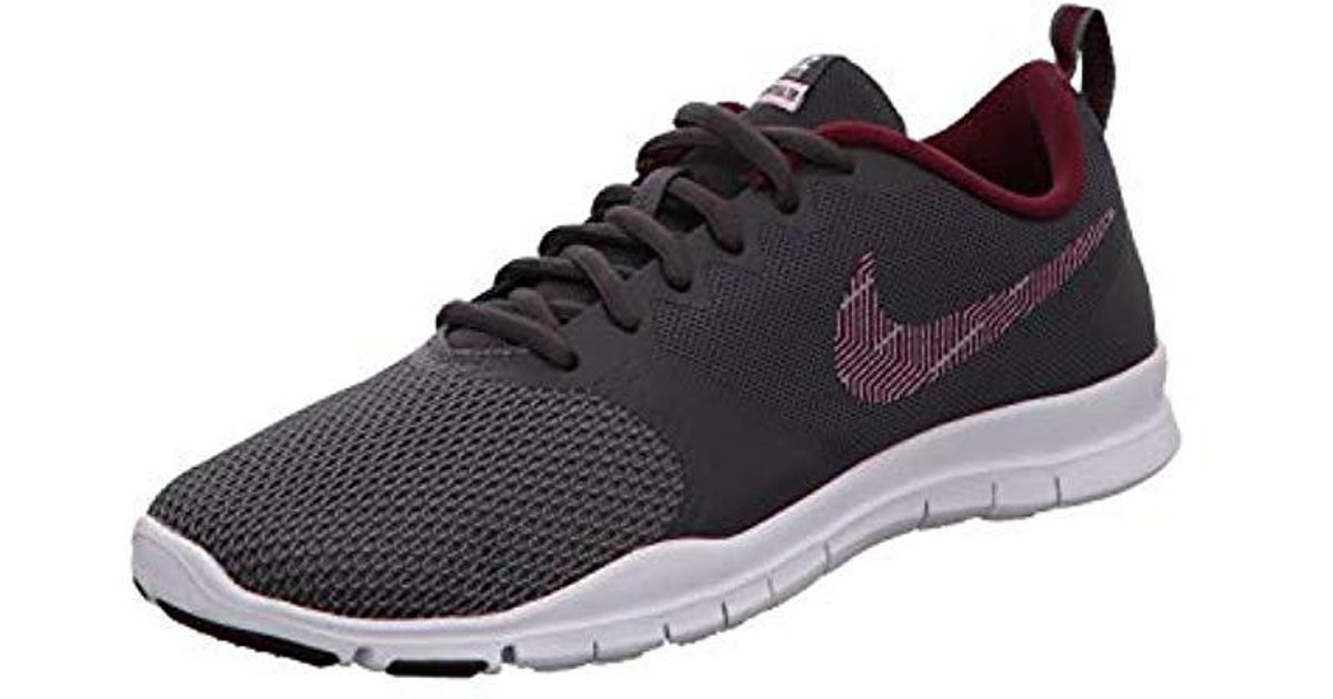 d492eb33b2711 Nike Wmns Flex Essential Tr Fitness Shoes in Gray - Lyst