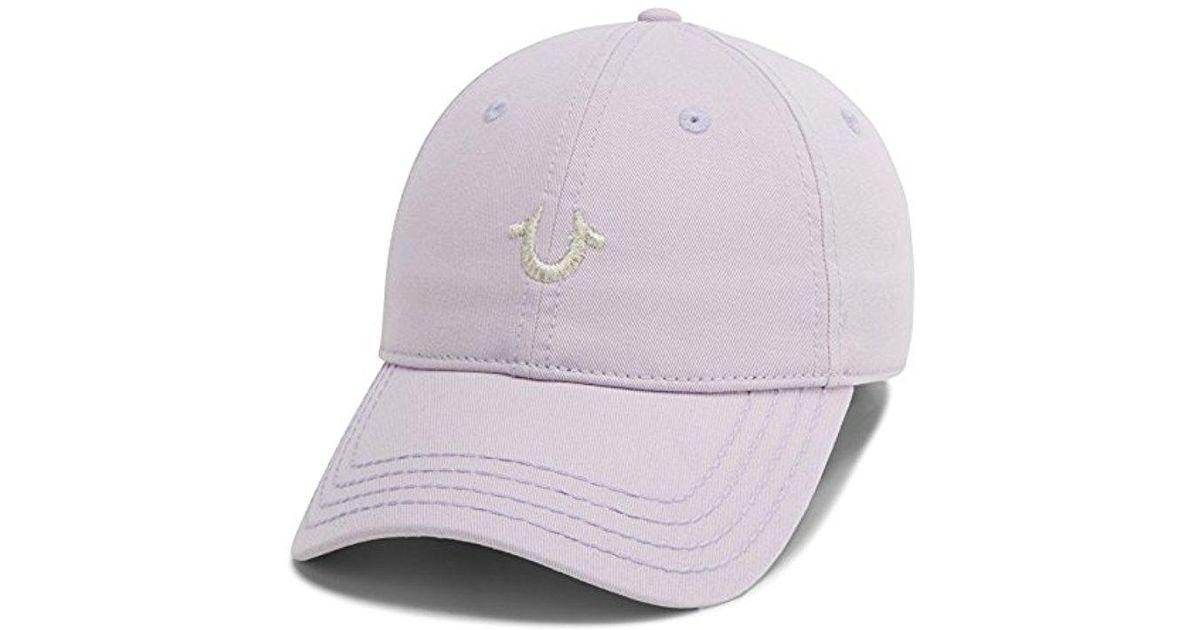 446f12fd8e0 Lyst - True Religion Core Logo Baseball Cap in Purple for Men