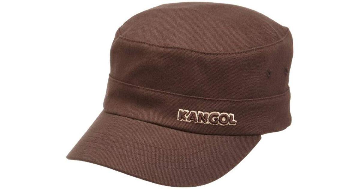 a01489740 Lyst - Kangol Flexfit Army Cap in Brown for Men