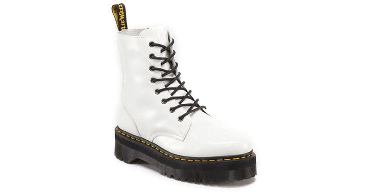 Dr. Martens White Jadon Boots CZT3N