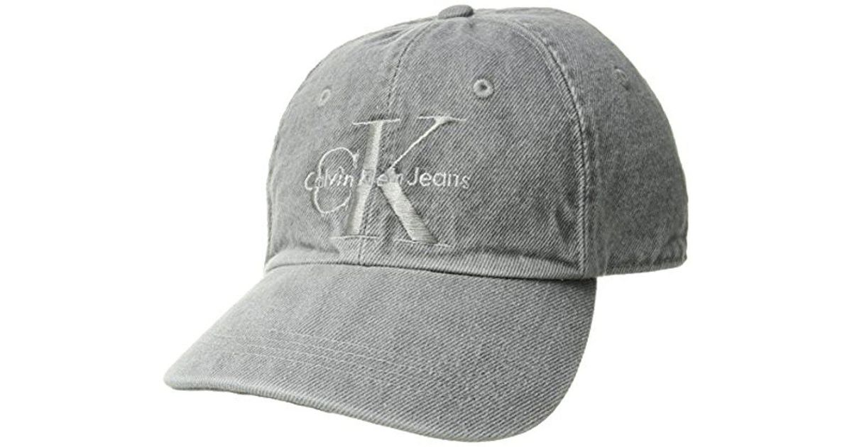 7311b1999d73d calvin-klein-205w39nyc-Electronic-Jeans-Embroidered-Monogram-Logo-Baseball-Dad- Hat-Electronic-One-Size.jpeg