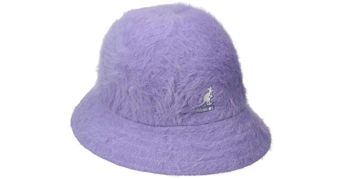 Lyst - Kangol Furgora Casual Hat in Purple for Men b0d6f40f7a32