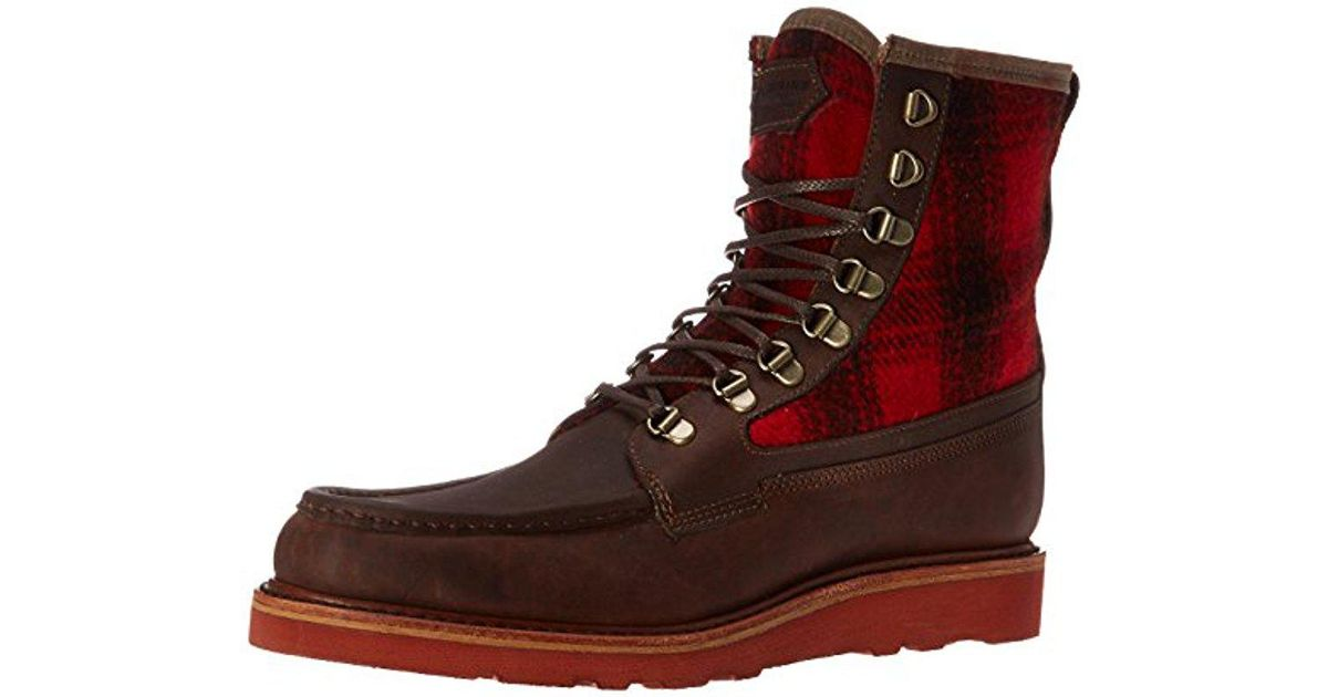 7076e36e879 Wolverine Brown 1883 By Made In The Usa Peninsula Winter Boot for men