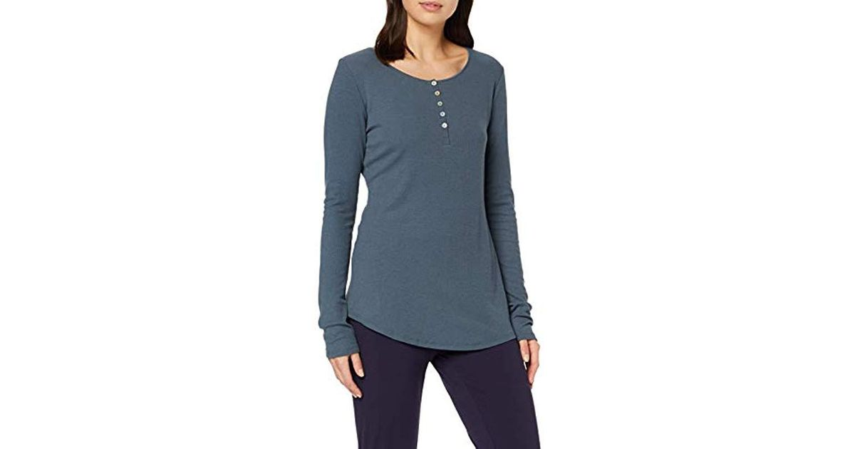 Triumph Womens Thermal Sweater Pyjama Top