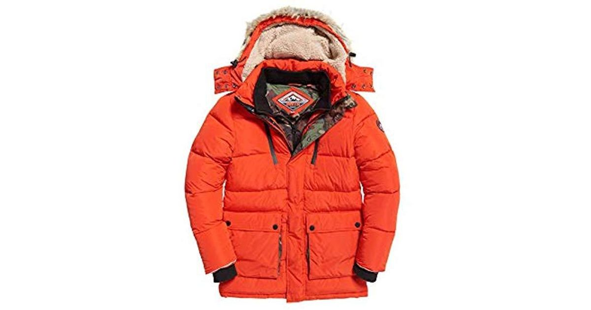 Superdry SD Expedition Coat Red