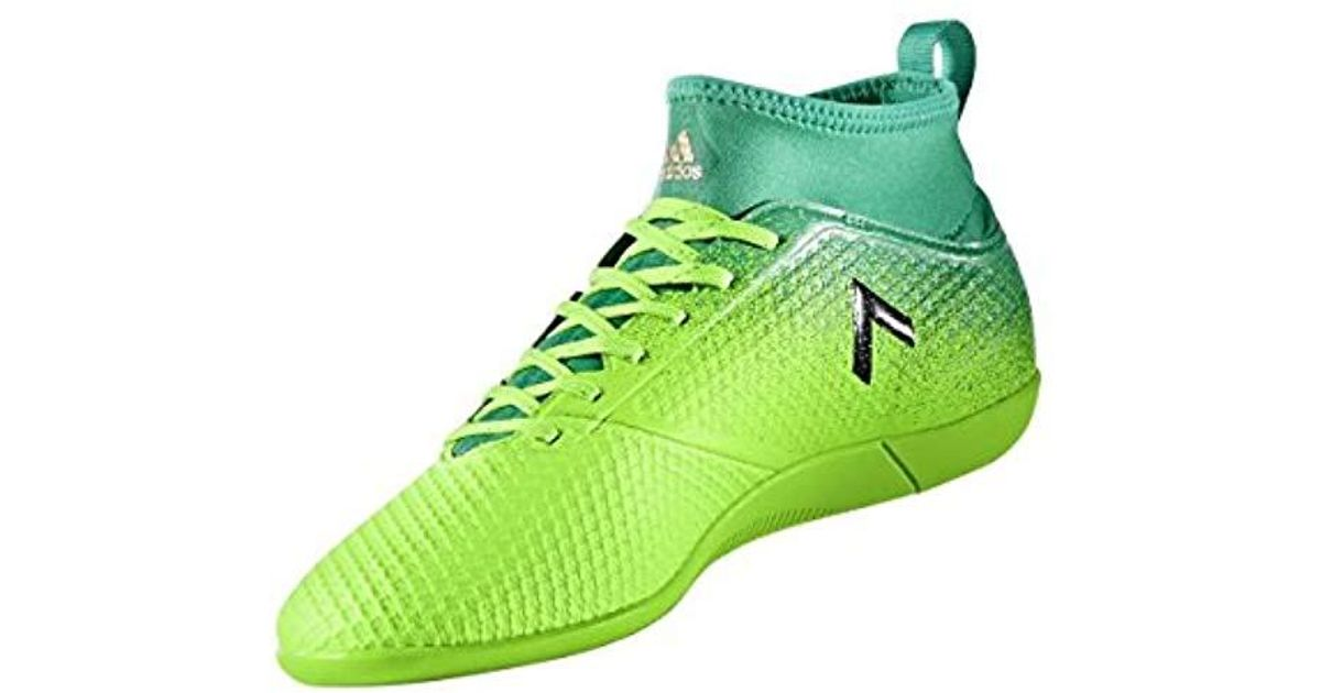 on sale d641c 8842b Adidas Green Ace 17.3 Primemesh Indoor Trainers Fitness Shoes for men