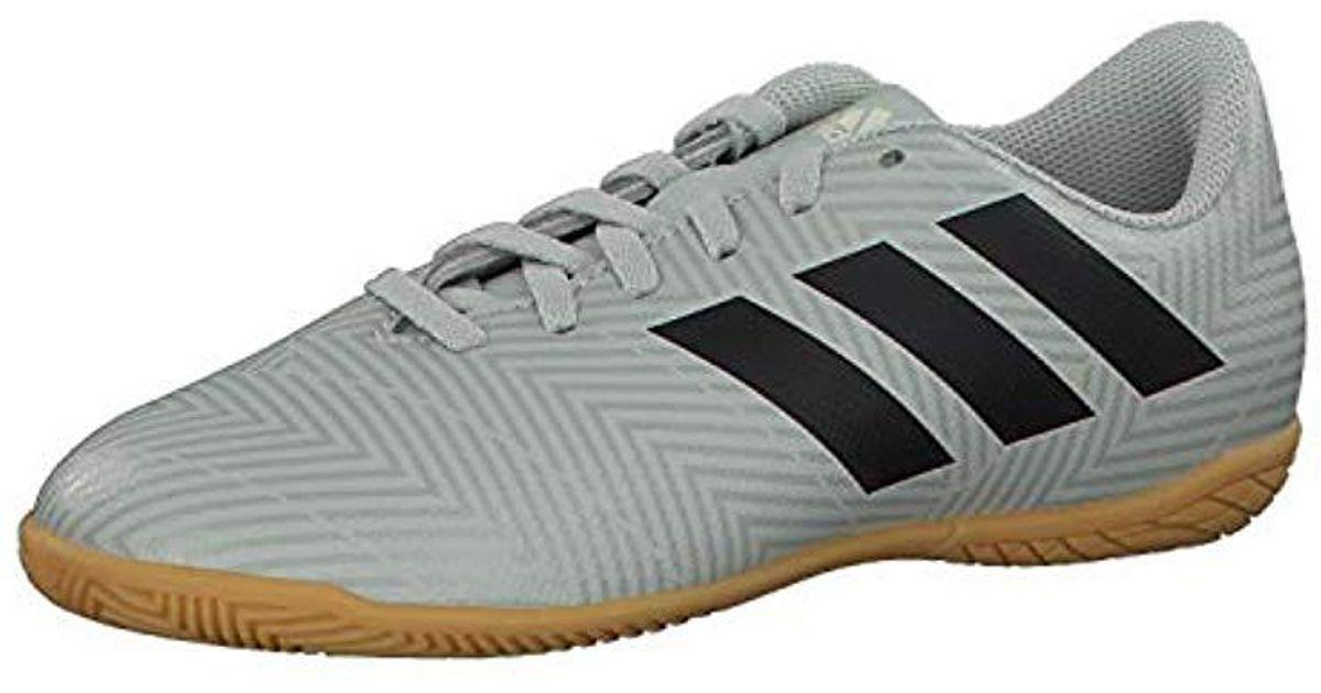 622decddc adidas Unisex Adults  Nemeziz Tango 18.4 In J Futsal Shoes in Gray for Men  - Lyst