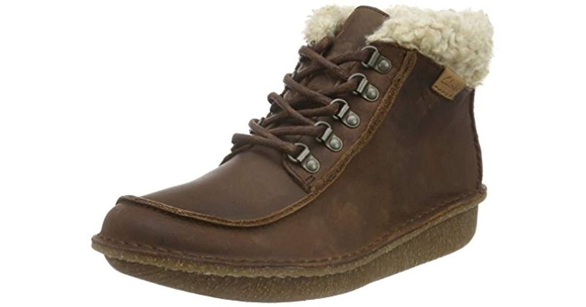 Clarks Leather Funny Girl Ankle Boots