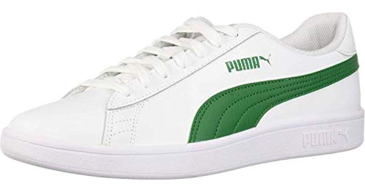 PUMA Suede Smash V2 Sneaker in White