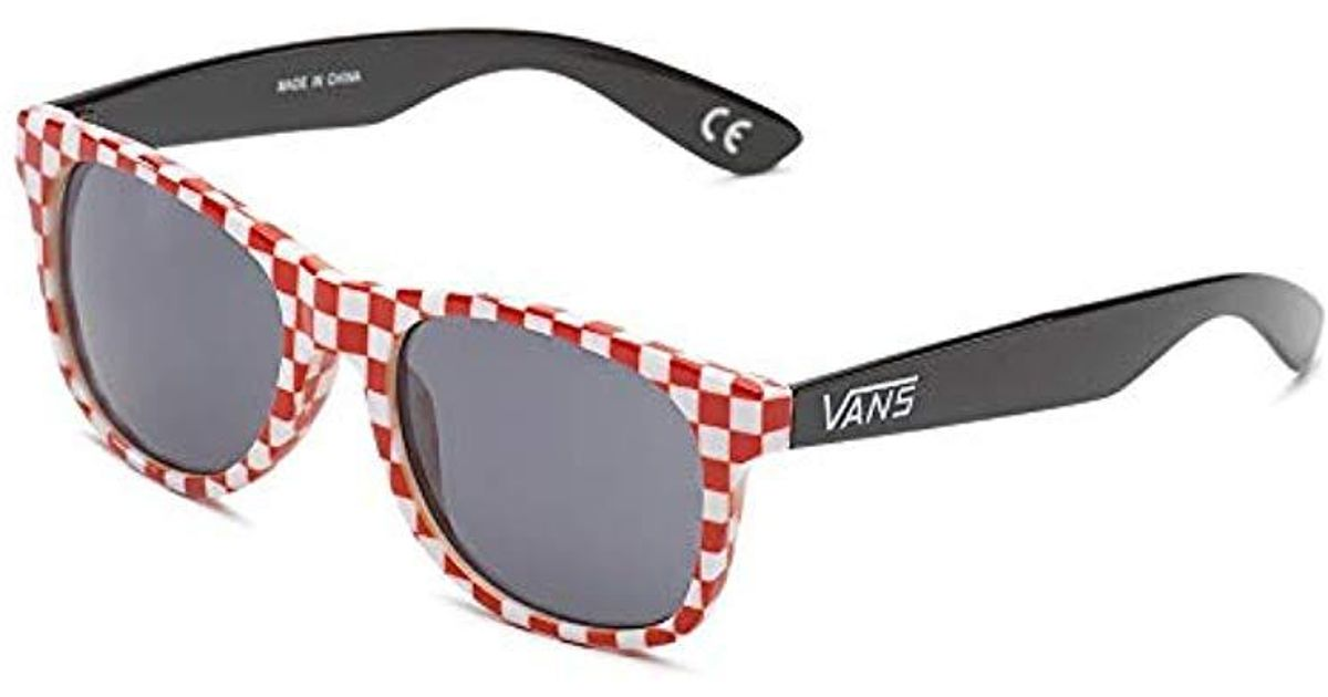 Black50 4 Check Spicoli White Shades Vansapparel SunglassesMulticolourred trxhdsQC