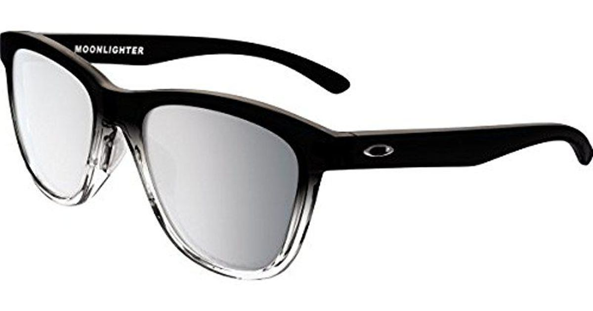 a2b0b0a856 Lyst - Oakley S Moonlighter Sunglasses (oo9320) Plastic in Black
