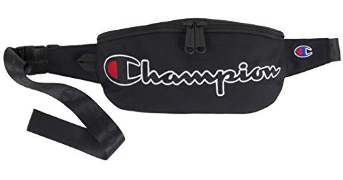 b548c1b961d6 Champion Unisex-adult's Prime Sling Waist Pack, Black One Size for men
