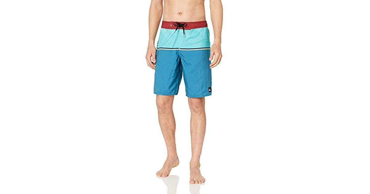 1e8cc94b387f Quiksilver Everyday Division 20 Boardshort Swim Trunk in Blue for Men -  Save 32% - Lyst