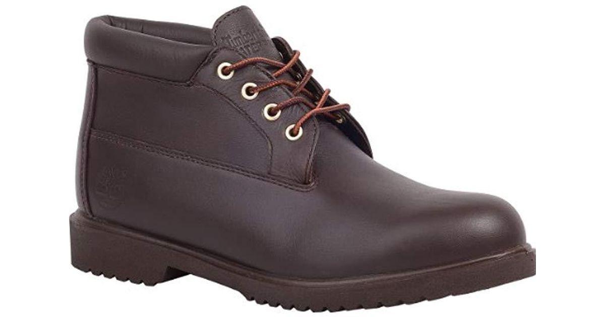 110e32bf7d988 Timberland Brown Premium Waterproof Newman Chukka Boots for men