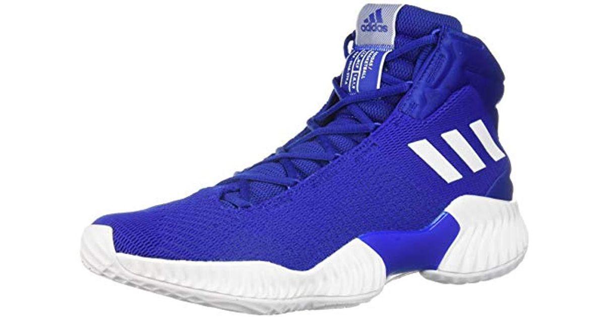 72ae46ca Adidas Originals Blue Pro Bounce 2018 Basketball Shoe for men
