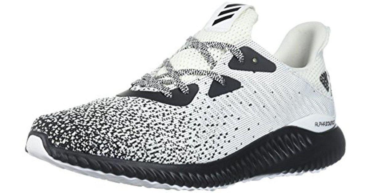 9560b743f35a Lyst - adidas Alphabounce Ck Running Shoe in Black