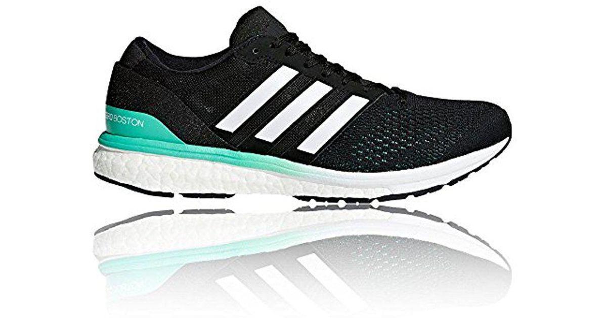 big sale b1853 705aa Lyst - Adidas Adizero Boston 6 W Running Shoe in Black for M