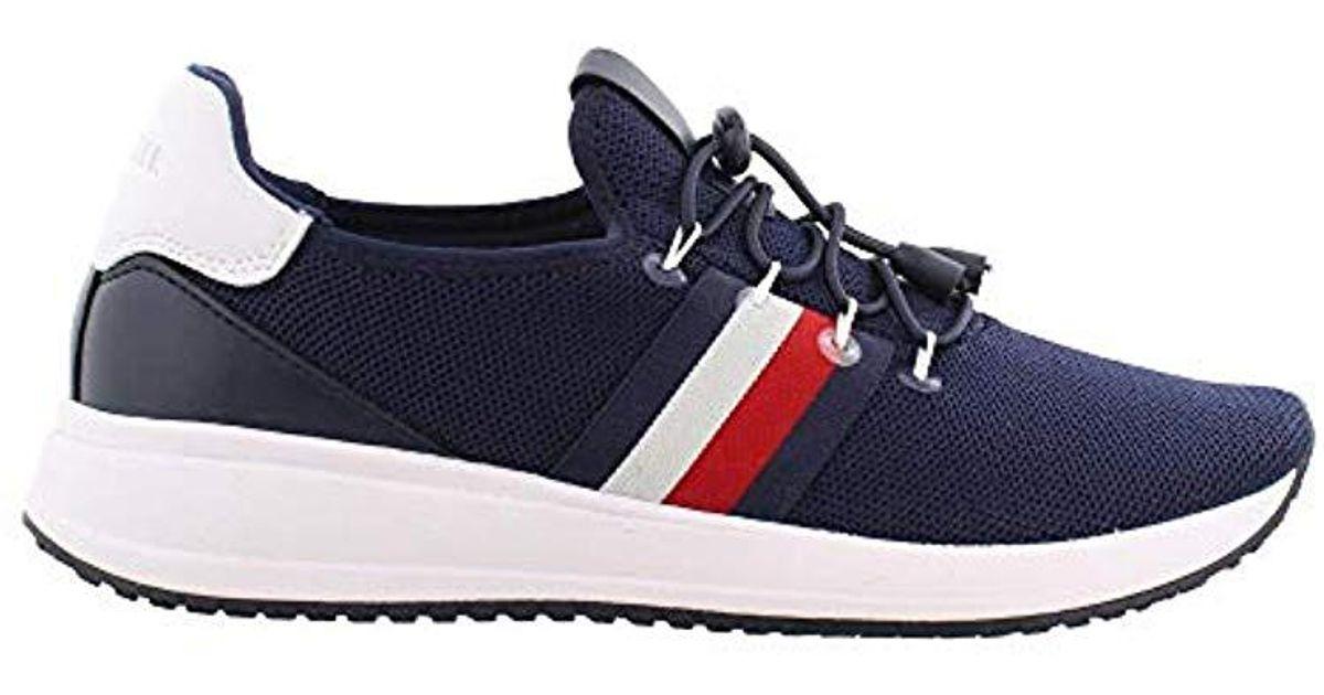 fa75fe48bab4 Lyst - Tommy Hilfiger Rhena Sneaker in Blue - Save 22%