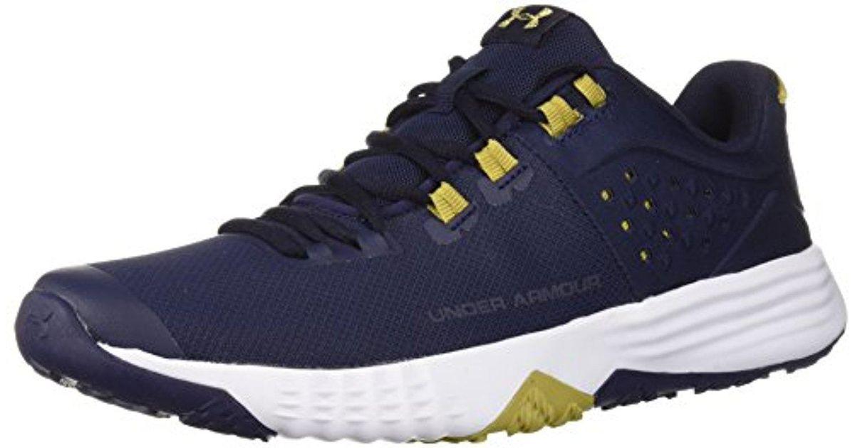 6c4bdba84e Lyst - Under Armour Bam Trainer Sneaker in Blue for Men