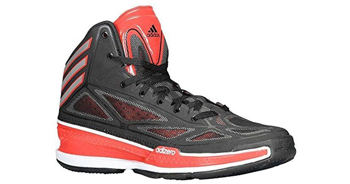 timeless design 96b42 ba504 Lyst - adidas Performance Adizero Crazy Light 3 Basketball Shoe in Black  for Men