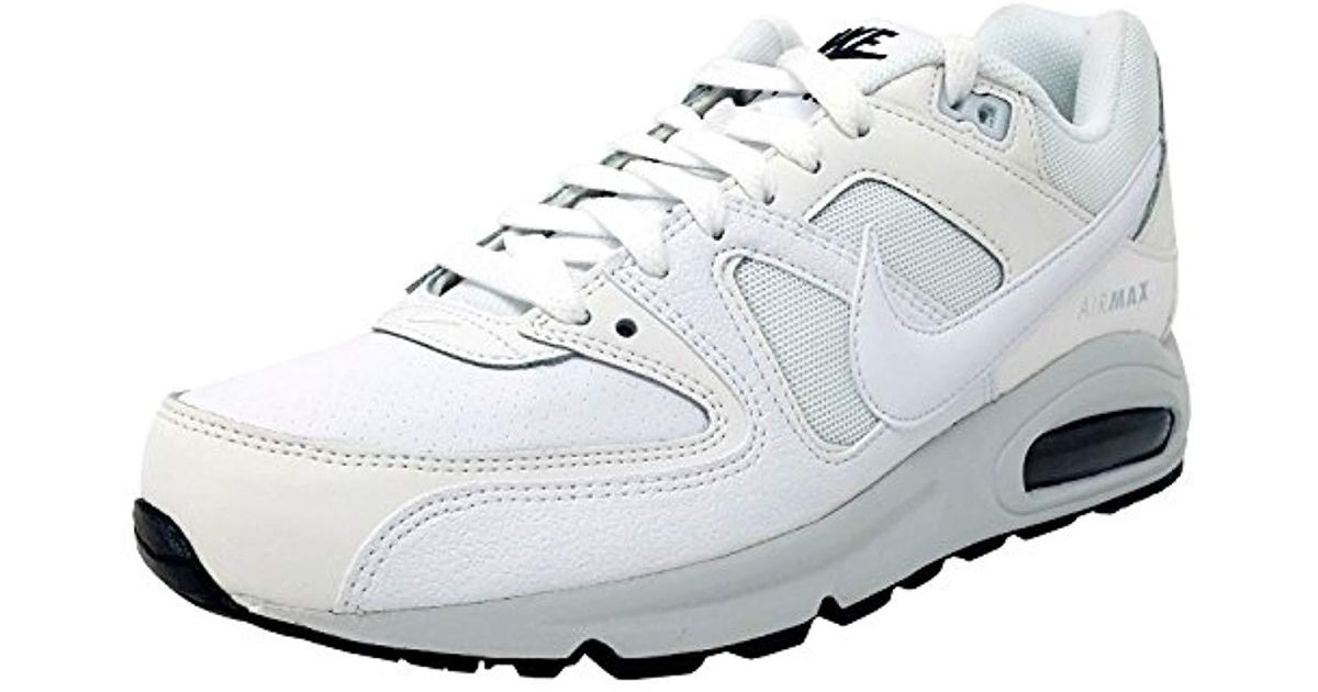 Nike White Air Max Command Prm, 's Running Shoes for men