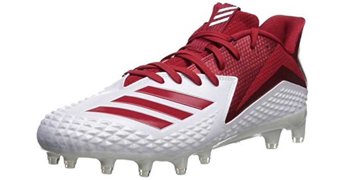 online store d4edc 25546 Lyst - Adidas Freak X Carbon Mid Football Shoe, Whitepower Redwhite, 16 M  Us in White for Men
