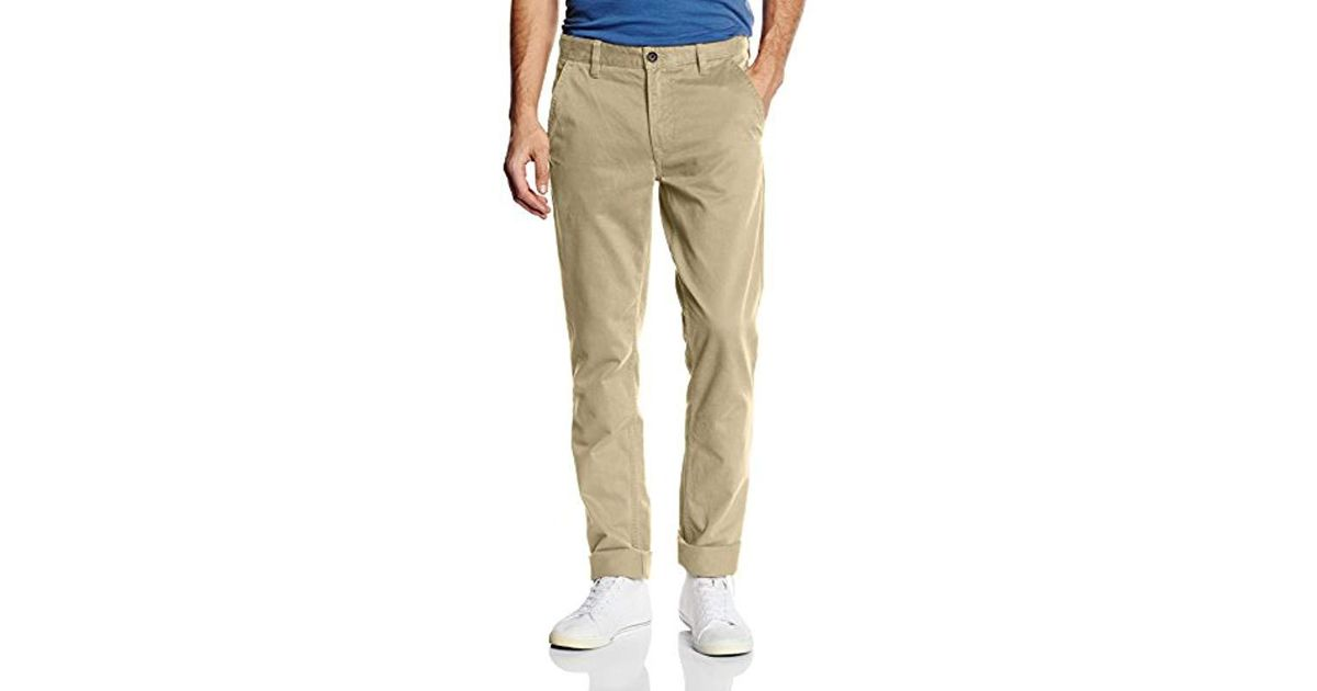 a60399bcfc8 Timberland Natural Sargent Lake Twill Chino Trousers for men