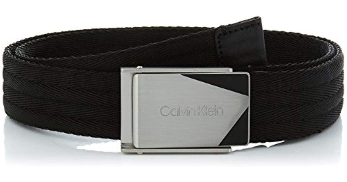 Lyst - Ceinture Homme Calvin Klein pour homme en coloris Noir f3a929e97fe