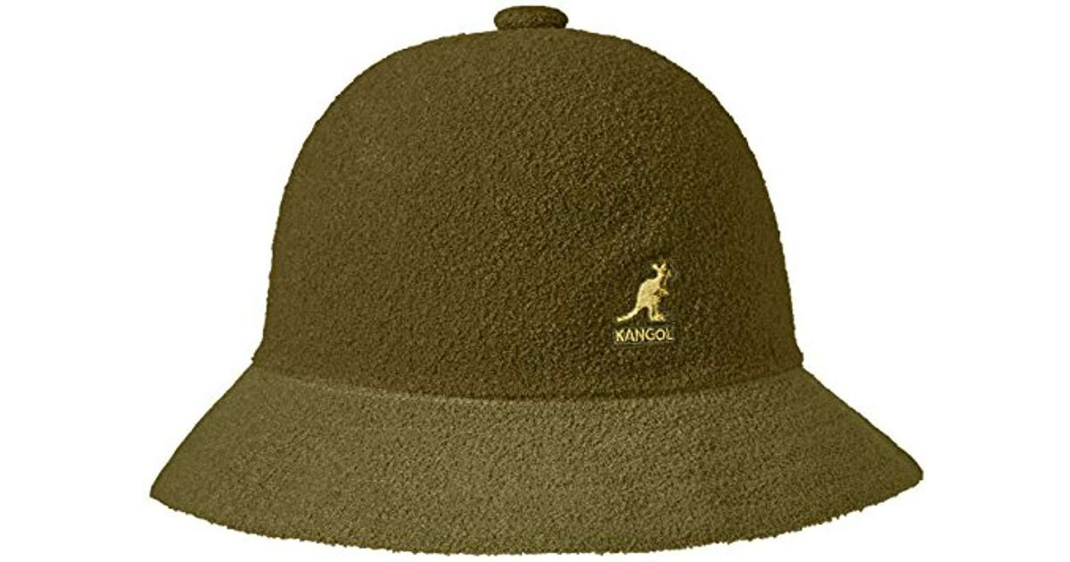 Lyst - Kangol Bermuda Casual Bucket Hat in Green for Men dec12b3bef0