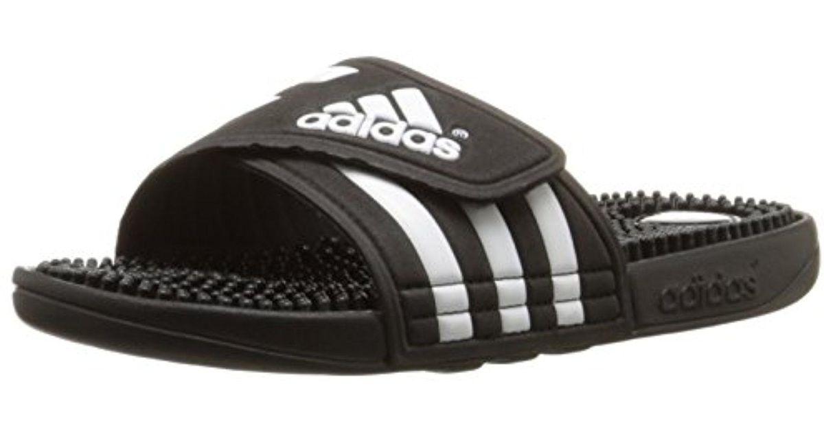 a19f7c98a5f2d0 Lyst - Adidas Adissage W Slide Sandal in Black for Men