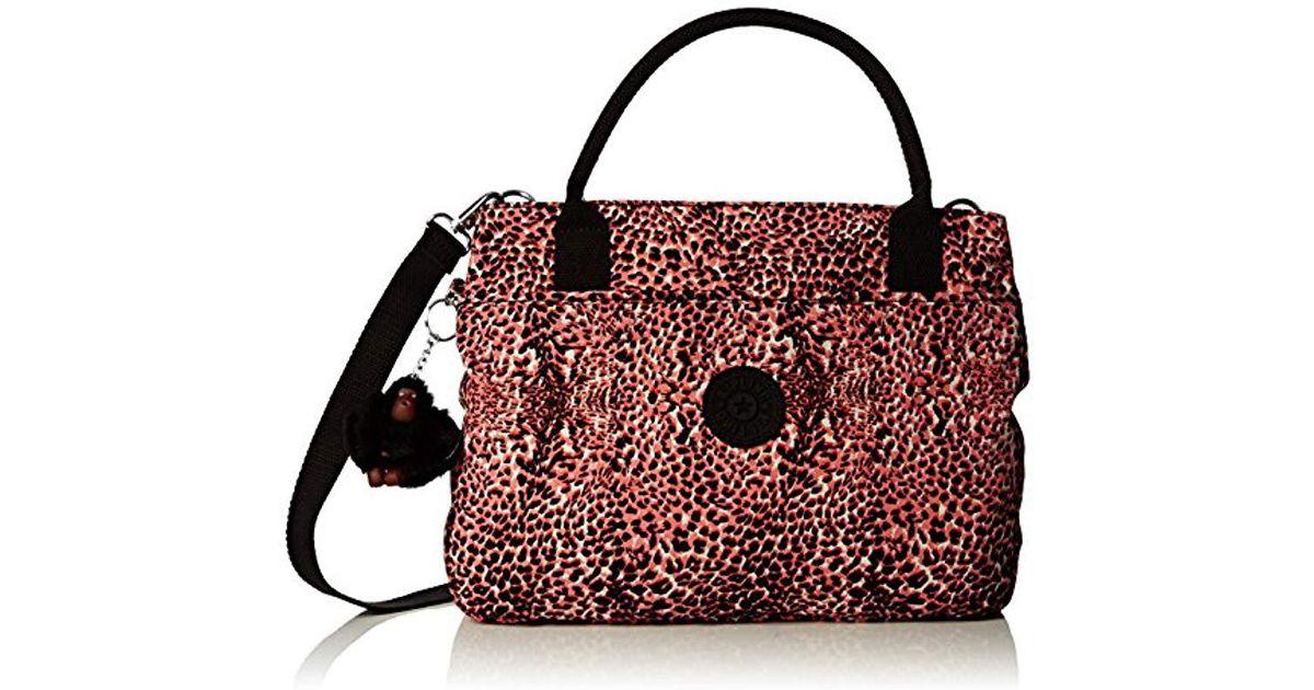 031dbef0ec Kipling S Caralisa Bp Shoulder Bag in Red - Save 1% - Lyst
