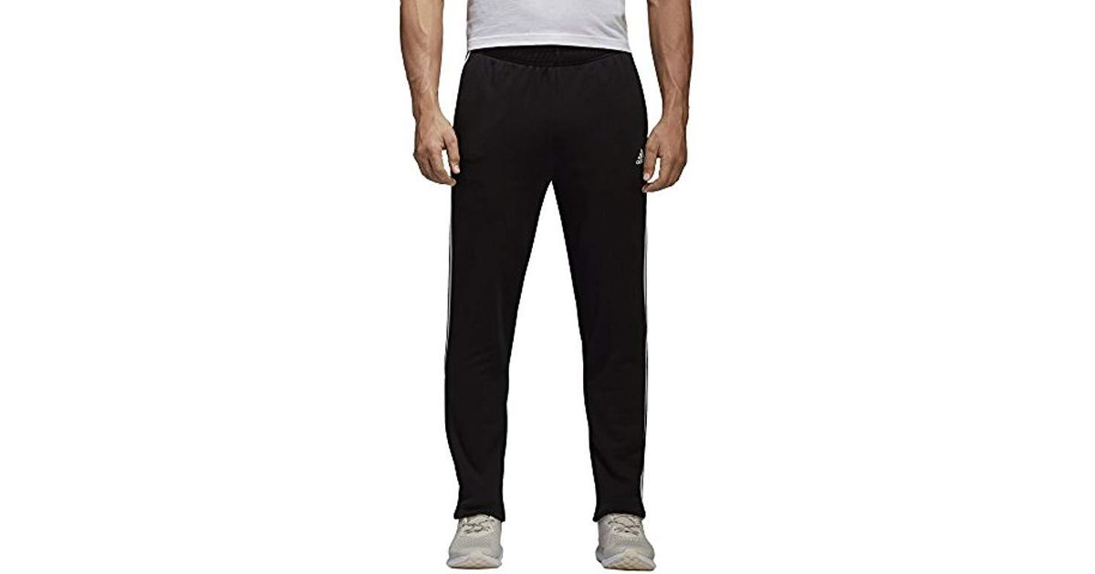Lionel Green Street Cooperación Ajustable  adidas Cotton Pants Running Essential 3 Stripes Fashion Training Gym Black  Bk7446 for Men - Save 63% - Lyst
