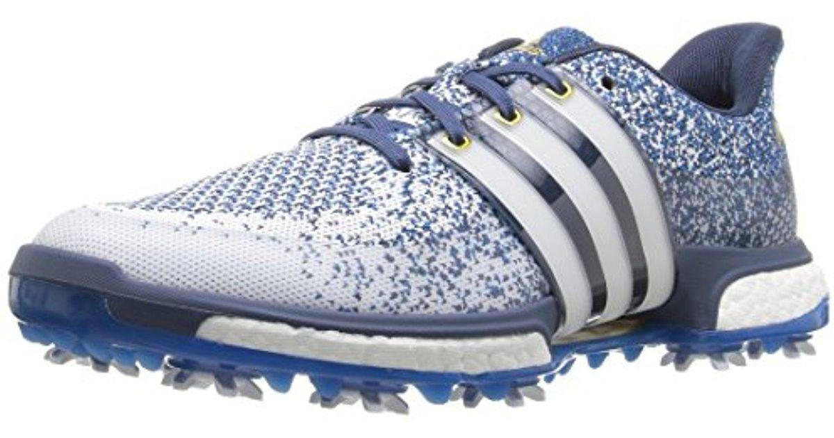 Adidas Blue Tour360 Primeknit Boost - Golf Shoes for men