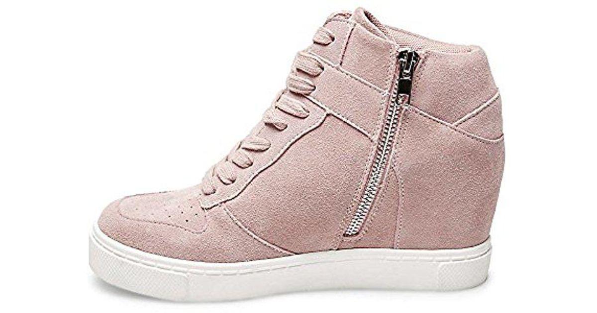 675d16aac243 Lyst - Steve Madden Noah Sneaker in Pink