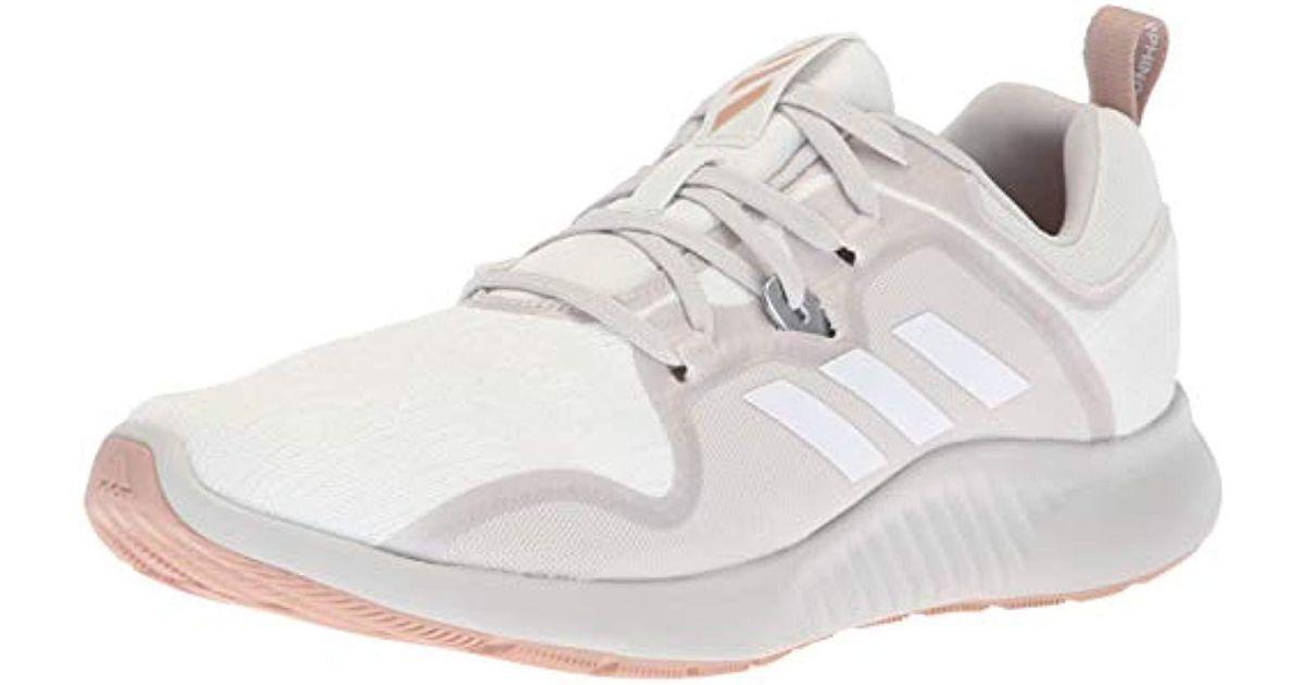 buy online 8ef27 ccf31 Adidas White Edgebounce Running Shoe