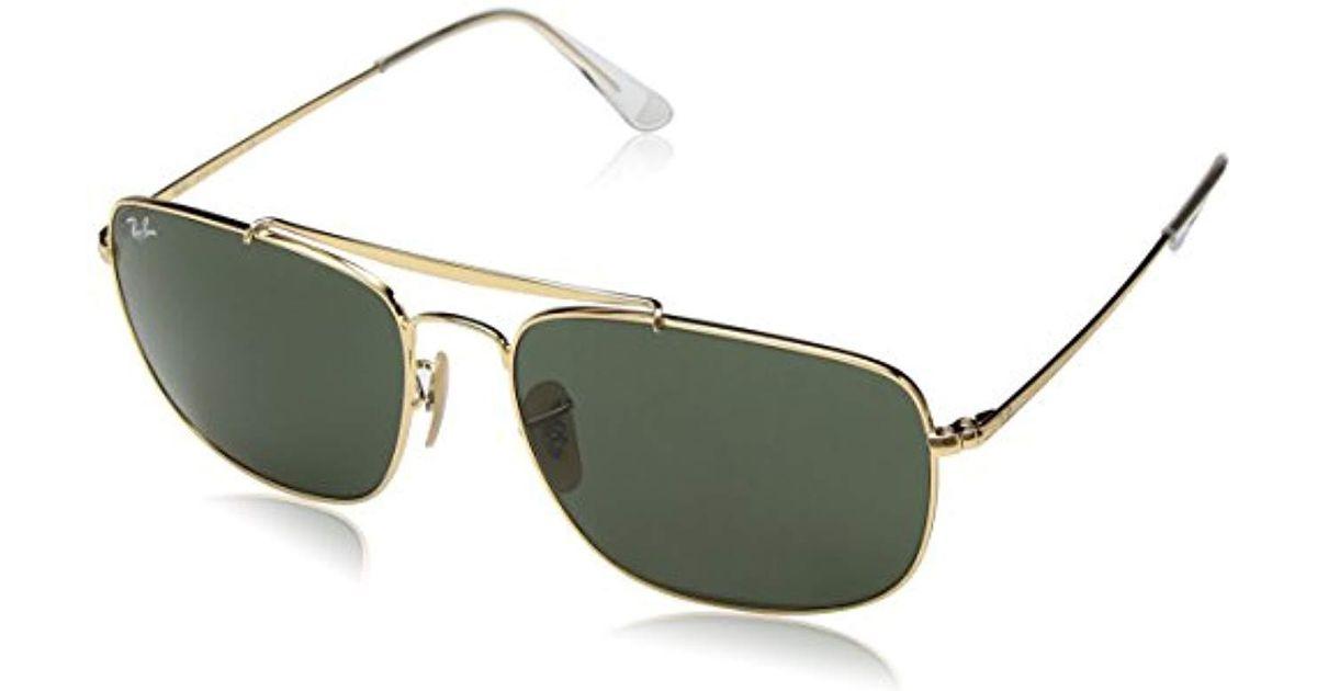 dd5f3aea02 RAYBAN 0rb3560 001 61 Gafas de sol Gold 60 para Hombre Ray-Ban de hombre de  color Metálico - Lyst