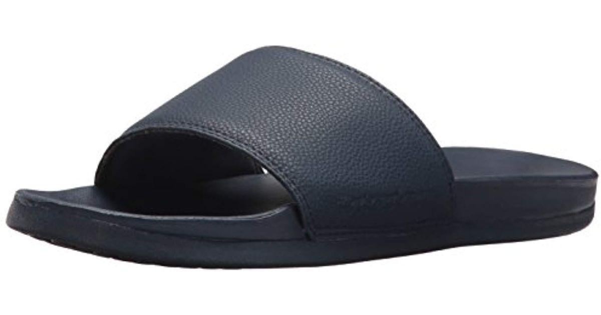 84838f430ca Skechers 51808 Platform Sandals in Blue for Men - Lyst