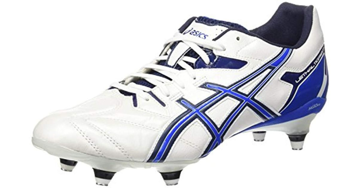 a7468c8ac Asics Lethal Tigreor 6 St Football Boots in White for Men - Lyst