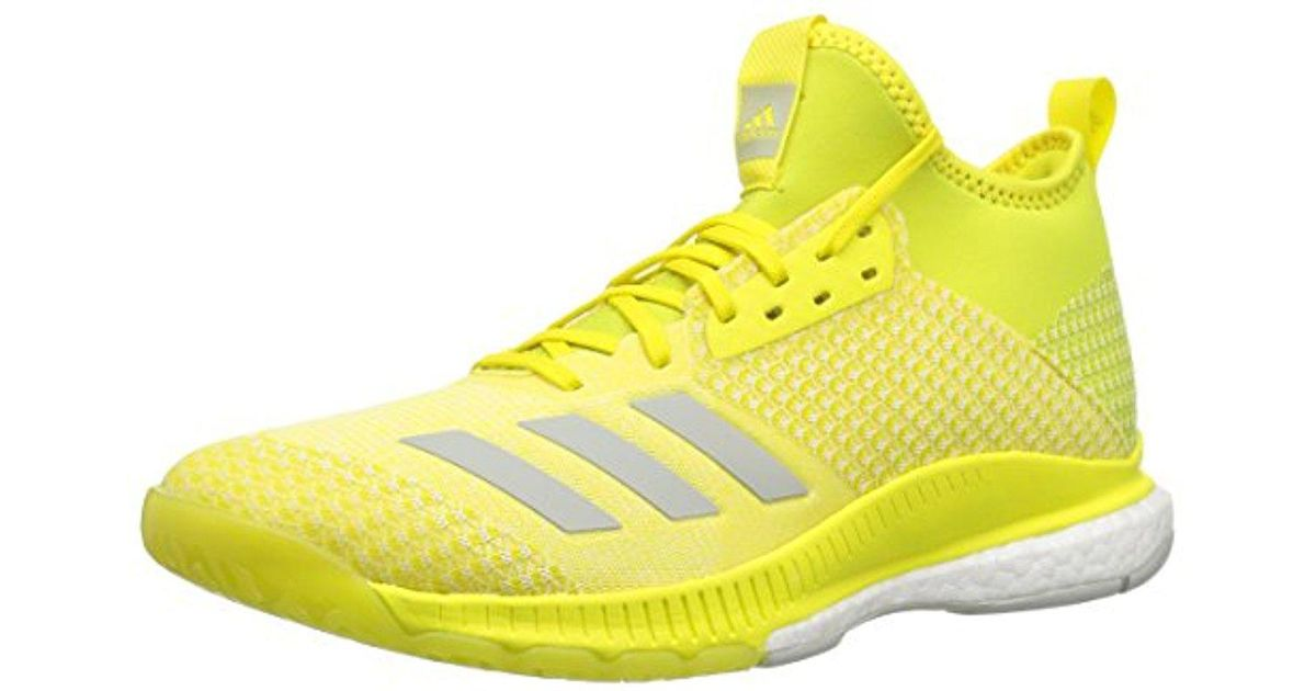 3c89c75efac9 Volleyball X Adidas Lyst Yellow Men for 2 Shoe Mid in Crazyflight Ewqqf7