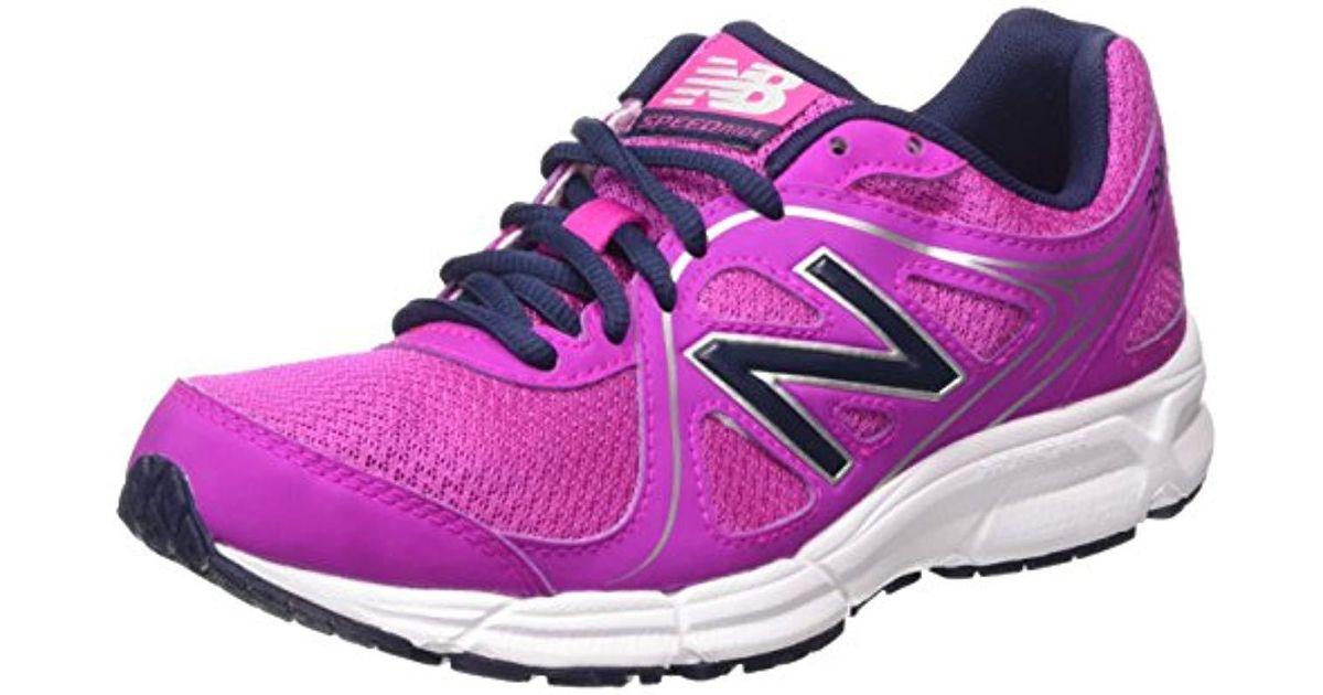 New Balance Purple 's W390v2 Running Shoes