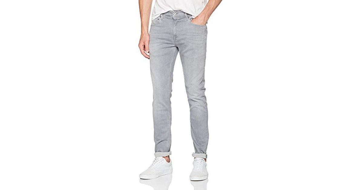 Pepe Jeans Gray Skinny Jeans for men