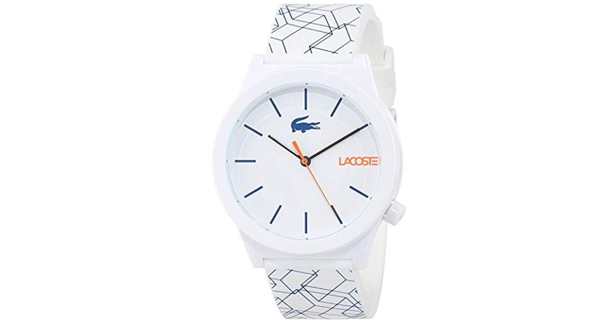 86cb99ee9168 Reloj Analógico para Hombre de Cuarzo con Correa en Silicona 2010956 Lacoste  de hombre - Lyst