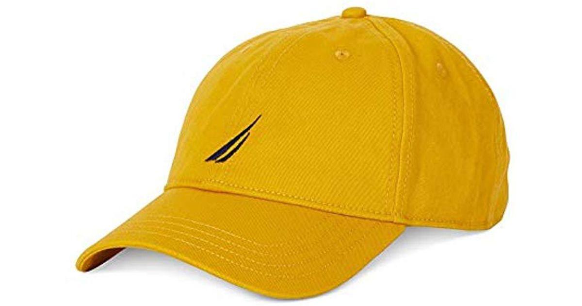 Lyst - Nautica J-class Hat in Yellow for Men 5b8d28e7fc6
