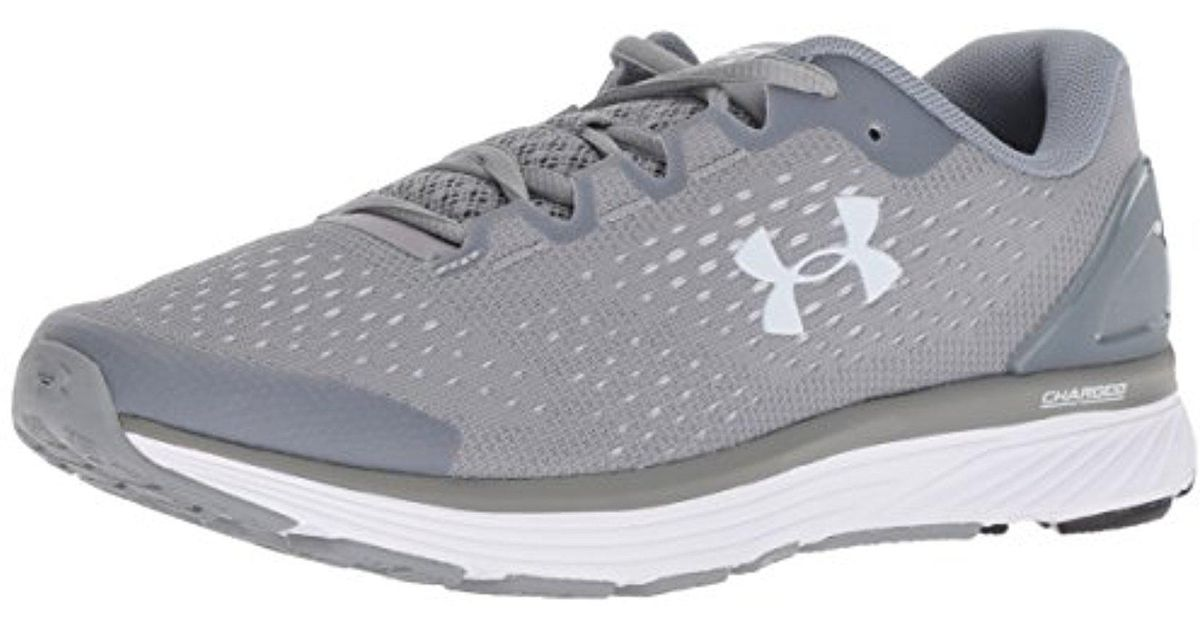 buy popular cf1ca b9879 Under Armour Gray Charged Bandit 4 Running Shoe, (100)/steel, 6