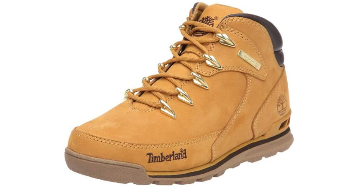 soft and light factory outlets bottom price Timberland Rubber Euro Rock Hiker Chukka Boots in Brown for ...