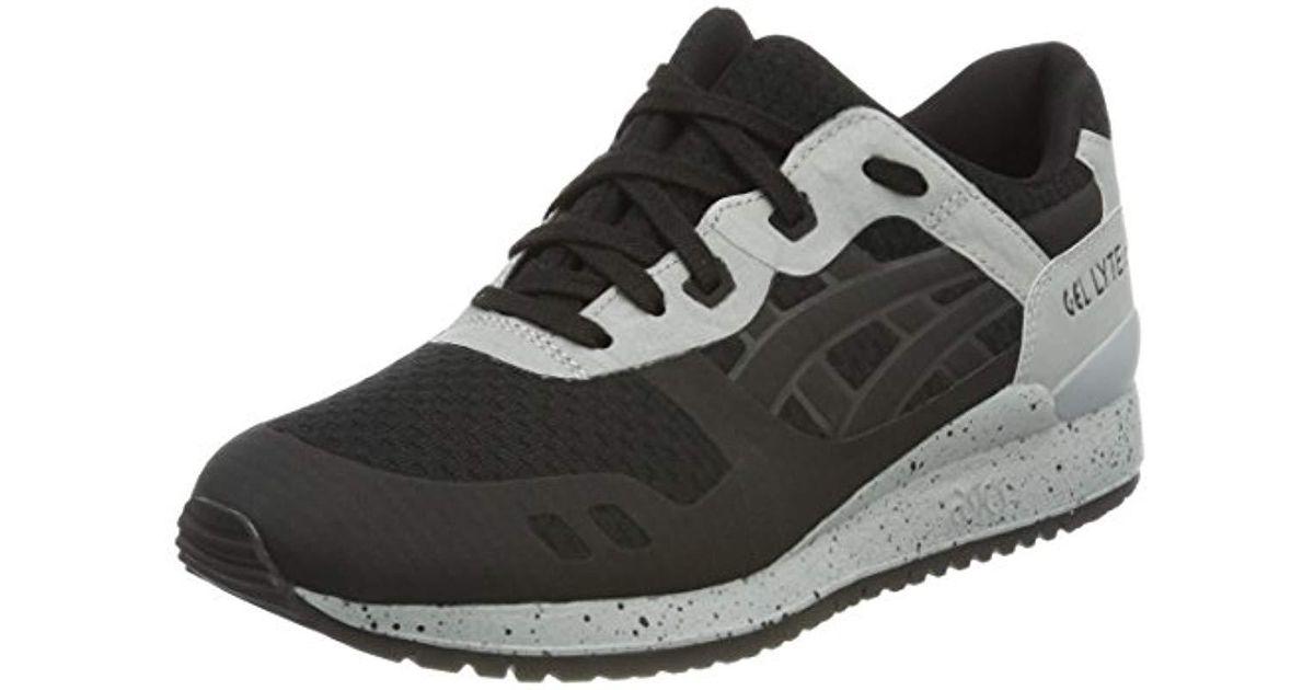 fedd3f3a8430 Asics Unisex Adults Gel-lyte Iii H7x4n-9090 Trainers in Black for Men - Lyst